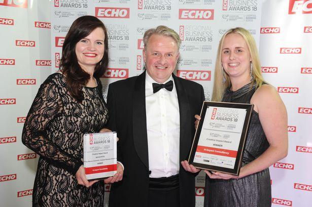 hi-impact awarded 'Creative Impact' award at ECHO Regional Business Awards 2018!