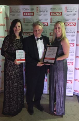 hi-impact awarded 'Creative Impact' award at ECHO Regional Business Awards 2018!