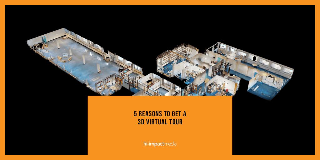Five reasons to get a 3D Virtual Tour