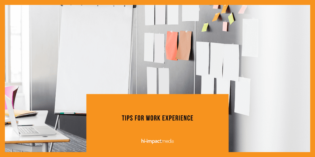 Tips for Work Experience