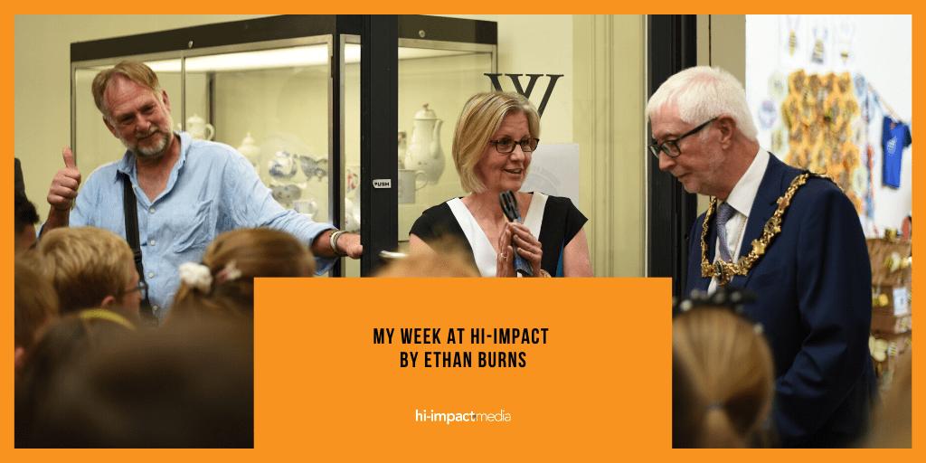 My week at hi-impact by Ethan Burns