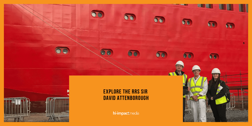 Explore the RRS Sir David Attenborough