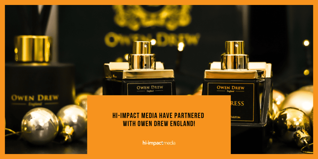hi-impact media have partnered with Owen Drew England!