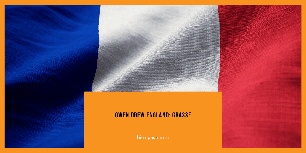 Owen Drew England: The Trip to Grasse