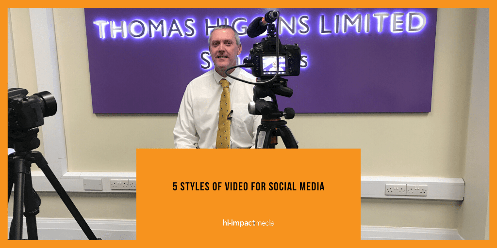 Five Styles of Video for Social Media