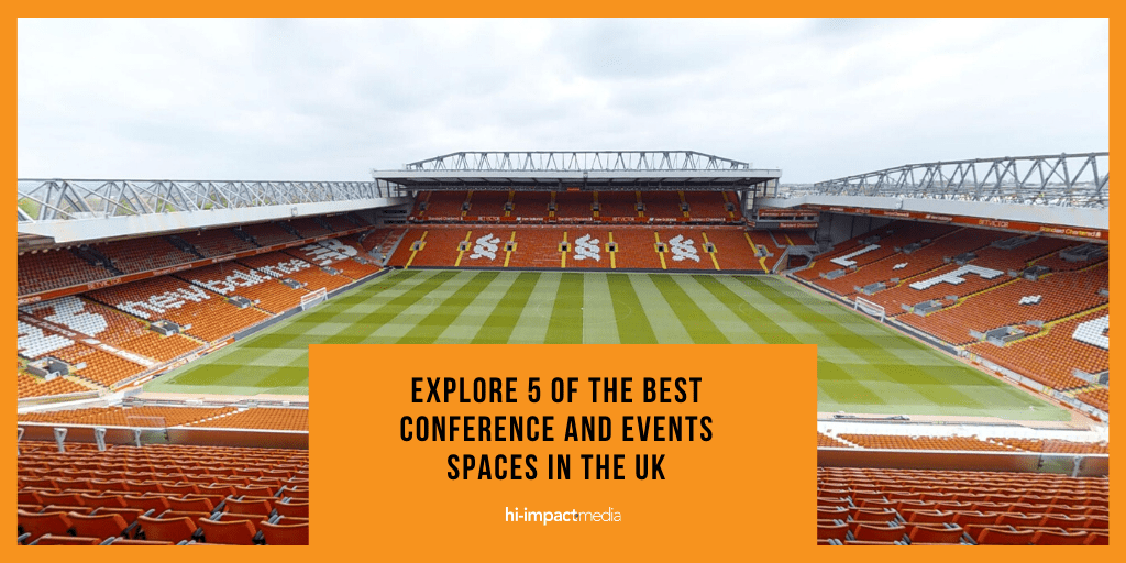 Explore 5 of The Best Conference and Events Spaces in The UK