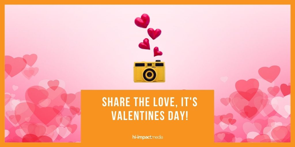 Share the love, it's Valentines Day!