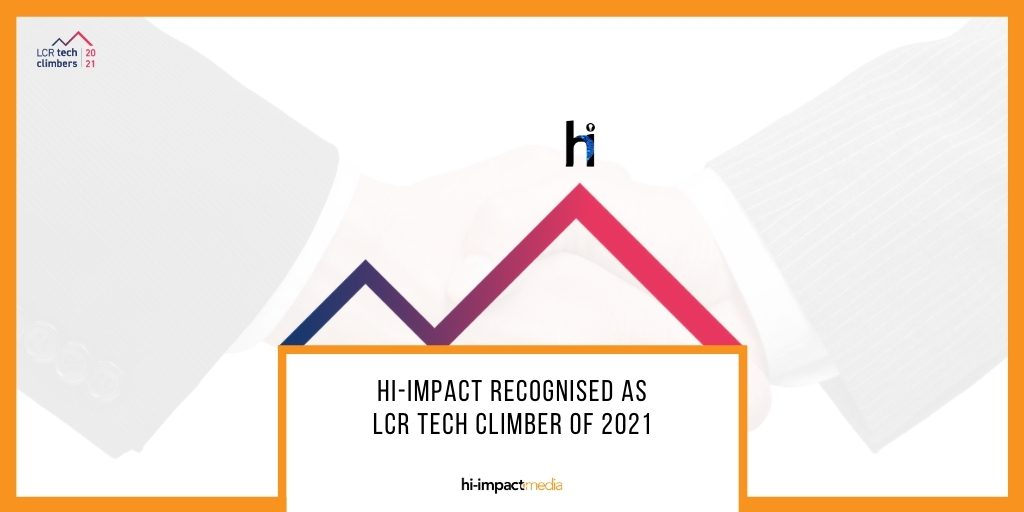 hi-impact Recognised as LCR Tech Climber of 2021
