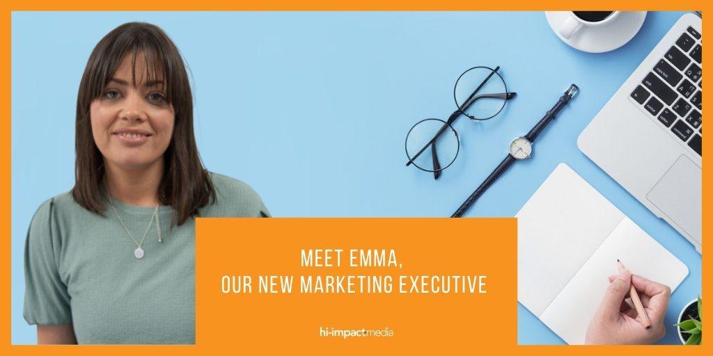 Meet Emma, Our New Marketing Executive